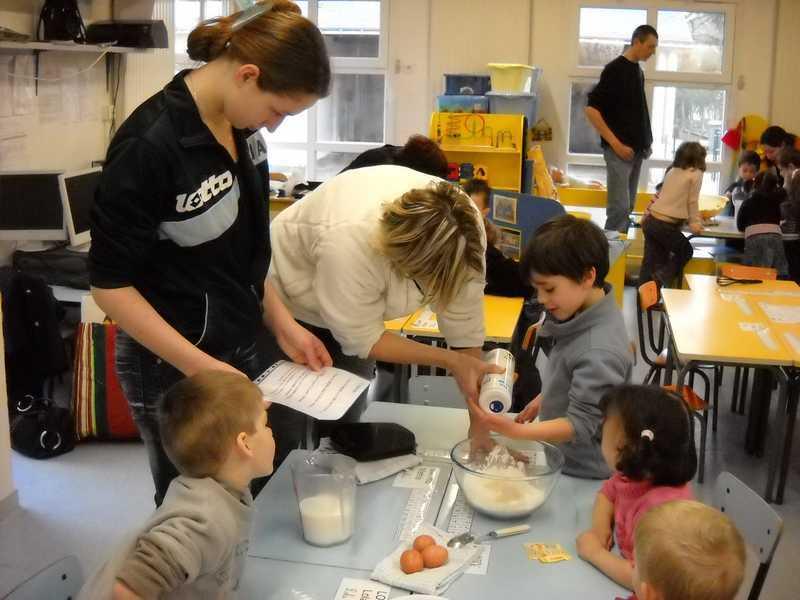Ecole de villed mer l 39 atelier cuisine de f vrier chez for Atelier cuisine tours